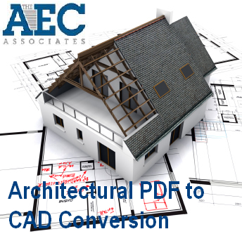 Architectural PDF to CAD Conversion