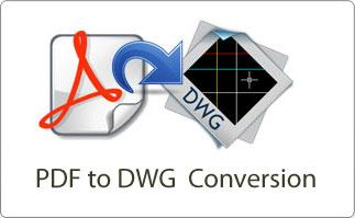 pdf to dwg conversion services