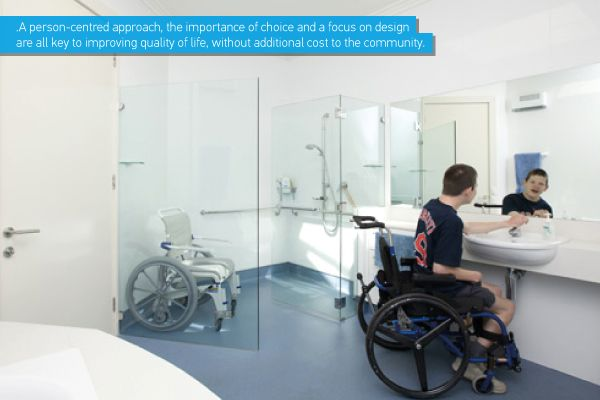 Architectural Drafting Services: Rest Rooms For The Disabled
