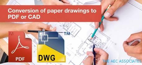 PDF to CAD conversion company