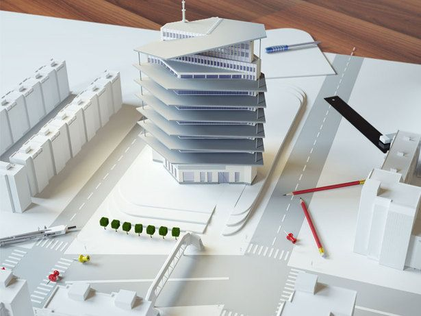 CAD Outsourcing Services for Skyscrapers
