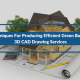 3 Techniques For Producing Efficient Green Buildings: 3D CAD Drawing Services