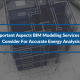 4 Important Aspects BIM Modeling Services Must Consider For Accurate Energy Analysis