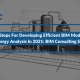 4 Steps For Developing Efficient BIM Models For Energy Analysis In 2021: BIM Consulting Services